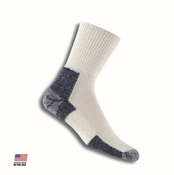 Large Adults' Running Crew Socks