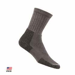 Large Men's Hiking Crew Socks