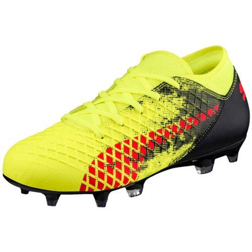 PUMA Boys' Future 18.4 FG/AG Jr Soccer Cleats