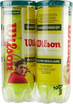 Wilson Championship Regular Duty Tennis Balls 4-Pack