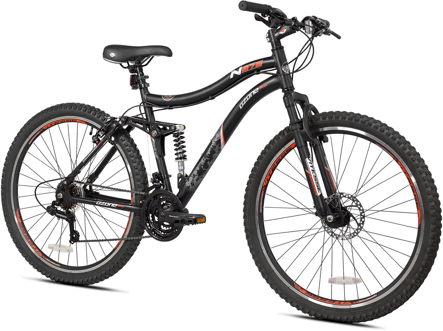 Ozone 500 Adults' N275 27 5 in 21-Speed Mountain Bicycle