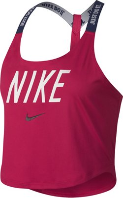 Nike Dry Elastika Cropped Training Tank Top