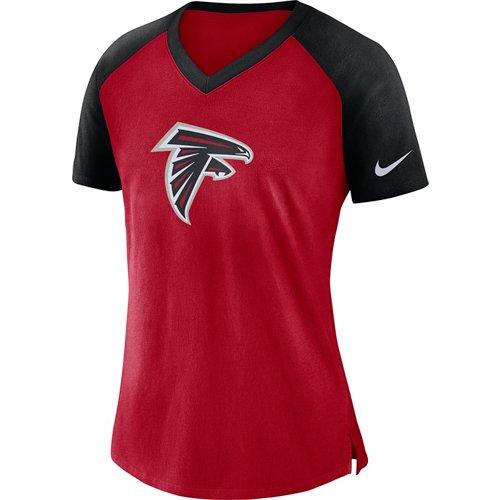 Nike Women's Atlanta Falcons V-neck Top