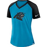 Nike Women's Carolina Panthers V-neck T-shirt