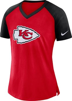 Nike Women's Kansas City Chiefs V-neck T-shirt