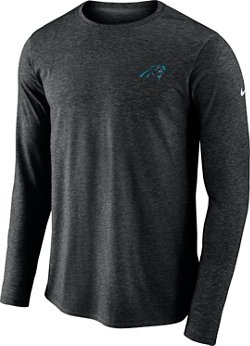 Nike Men's Carolina Panthers Coach Long Sleeve T-shirt