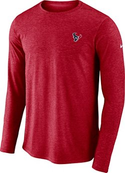 Nike Men's Houston Texans Coach Long Sleeve T-shirt