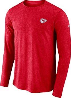 Nike Men's Kansas City Chiefs Coach Long Sleeve T-shirt