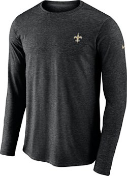 Nike Men's New Orleans Saints Coach Long Sleeve T-shirt