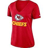 Nike Women's Kansas City Chiefs Dry V-neck T-shirt