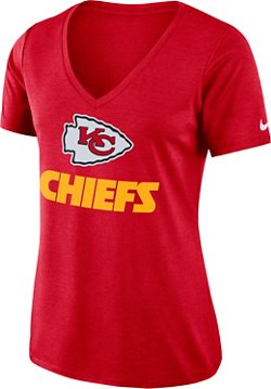 Nike Women's Kansas City Chiefs Dry V-neck T-shirt