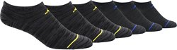 adidas Boys' Superlite No-Show Socks 6 Pack