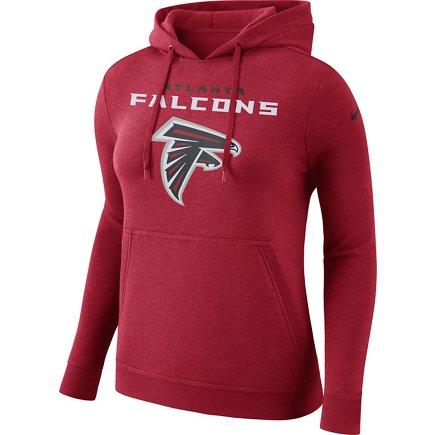 Nike Women s Atlanta Falcons Club Pullover Hoodie  8516a9a3b