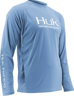 Huk Men's Performance Fishing Raglan Long Sleeve Shirt