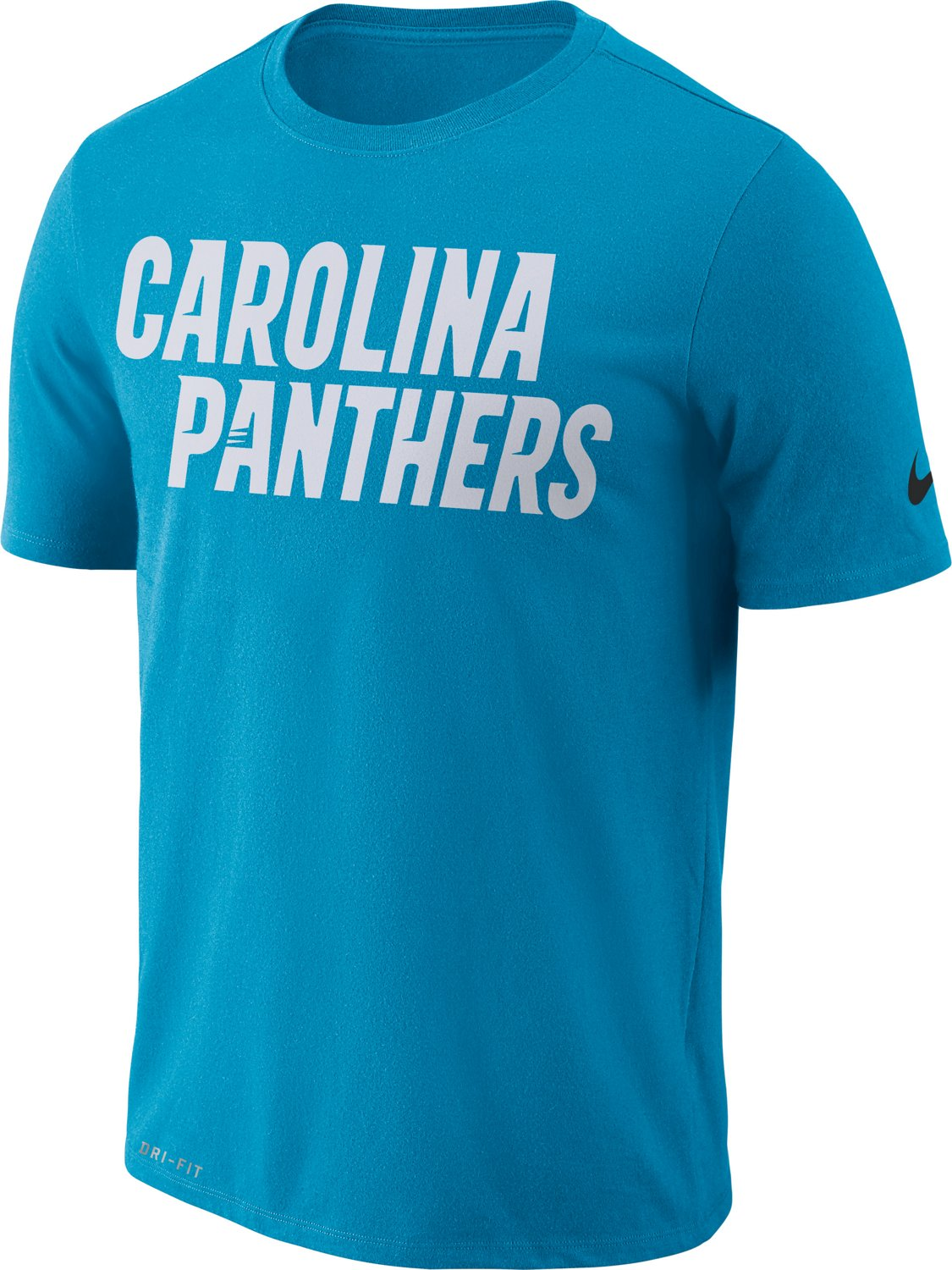 24593f5f2 Nike Men's Carolina Panthers Essential Wordmark T-Shirt | Academy