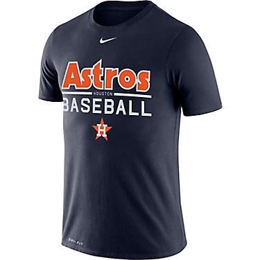 brand new 15295 abb89 Nike Men's Houston Astros Dri-FIT Cooperstown Practice T-shirt