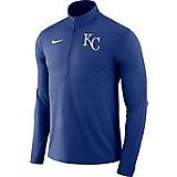 detailed look ff038 4b14f Nike Men s Kansas City Royals Long Sleeve Performance Zip Top