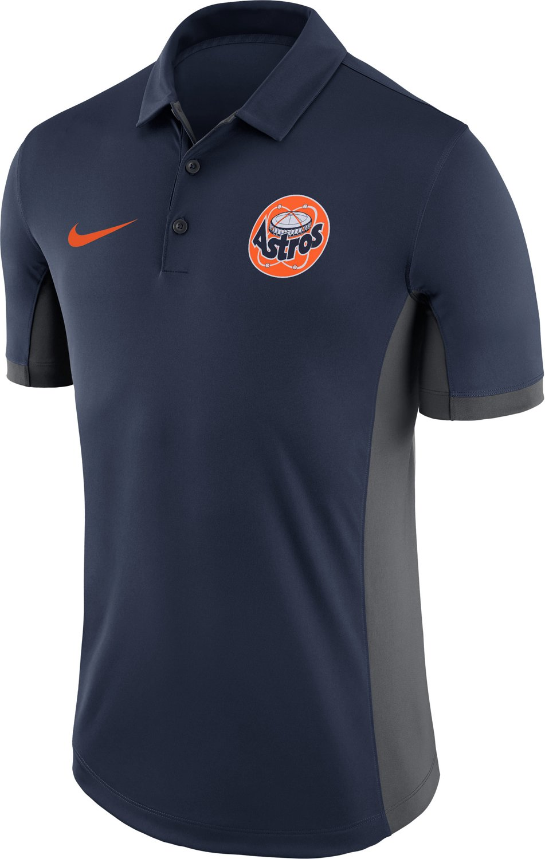 c0fb6e088 Nike Men's Houston Astros Polo Shirt | Academy