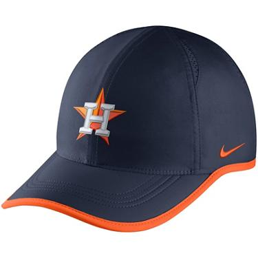 ccb98f33 ... Nike Men's Houston Astros Aerobill Featherlight Cap. Astros Hats.  Hover/Click to enlarge