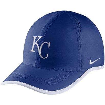 62abfac0e72 ... Nike Men s Aerobill Featherlight Kansas City Royals Baseball Cap. Royals  Headwear. Hover Click to enlarge