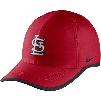 d52811ea76c86 Nike Men s Aerobill Featherlight St. Louis Cardinals Baseball Cap ...