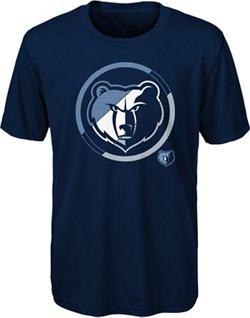 NBA Boy's Memphis Grizzlies Double Slice Short Sleeve T-shirt