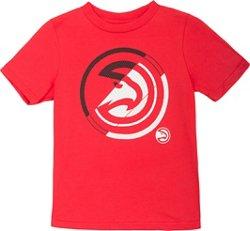 NBA Boy's Atlanta Hawks Double Slice Short Sleeve T-shirt