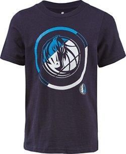 NBA Boy's Dallas Mavericks Double Slice Short Sleeve T-shirt