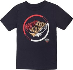 NBA Boy's New Orleans Pelicans Double Slice Short Sleeve T-shirt