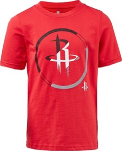 NBA Boy's Houston Rockets Double Slice Short Sleeve T-shirt