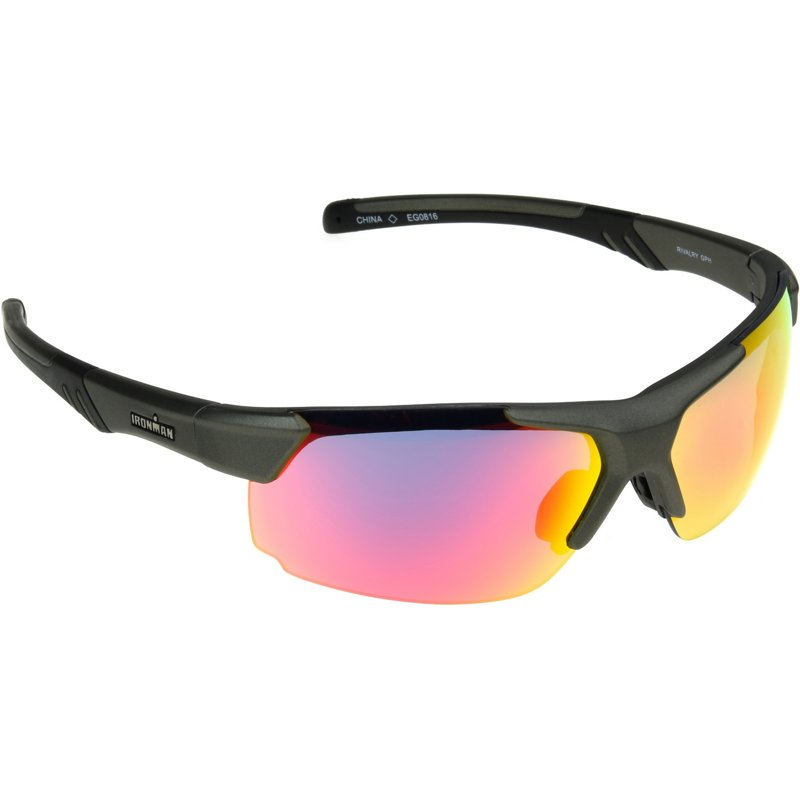 c25d09cc34 Ironman Triathlon Rivalry Gph MIR Sunglasses Metallic Graphite - Rack  Sunglasses at Academy Sports (114591355