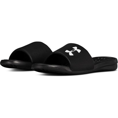 low priced 77310 9dd71 Under Armour Men s Playmaker Fixed Strap Slides
