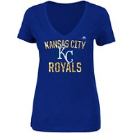 Majestic Women's Kansas City Royals Relentless Attack T-shirt
