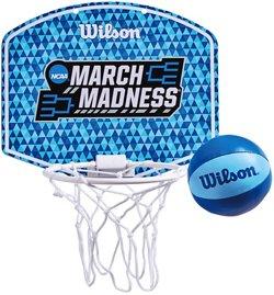 Wilson NCAA March Madness Mini Basketball Hoop Set