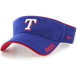 Texas Rangers Top Rope Visor
