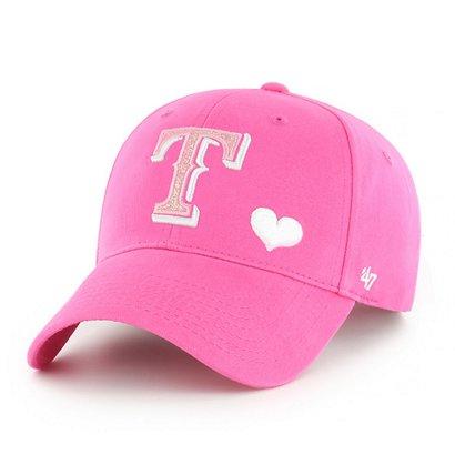 buy online 90e0d 880c6 ...  47 Texas Rangers Girls  Sugar Sweet MVP Cap. Rangers Hats. Hover Click  to enlarge