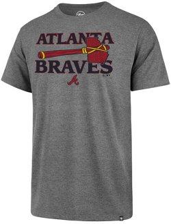 '47 Men's Atlanta Braves Tomahawk Regional Club Short Sleeve T-Shirt