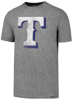 '47 Men's Texas Rangers Primary Knockaround Club Short Sleeve T-Shirt