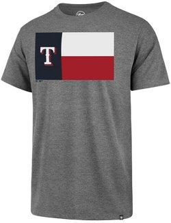 '47 Men's Texas Rangers State Flag Regional Club Short Sleeve T-Shirt