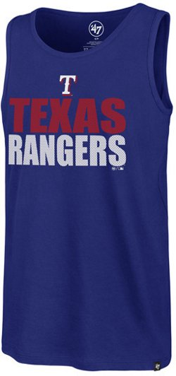 '47 Texas Rangers Stacked Mesh Splitter Tank Top