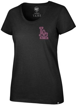 '47 Women's Atlanta Braves Neon Circle Club Short Sleeve T-Shirt