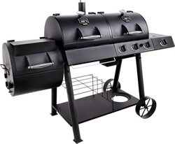 Longhorn Combo Grill and Smoker