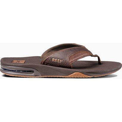 1b6a7a9eabf Reef Men s Leather Fanning Sandals