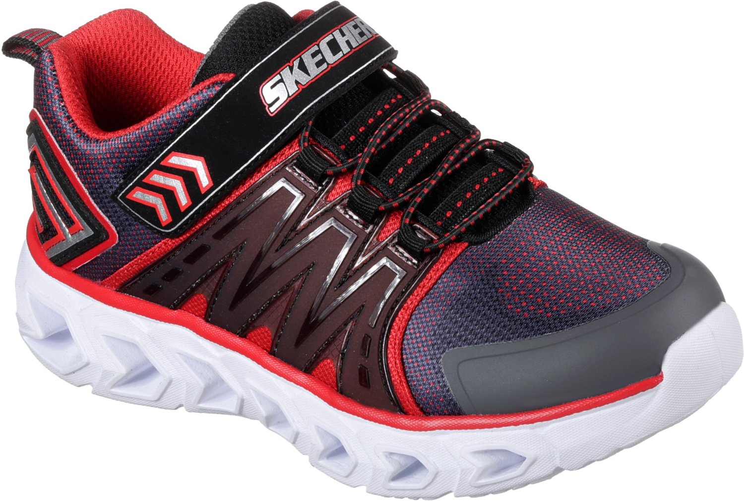 SKECHERS Boys' S Lights Hypo-Flash 2.0 Shoes - view number 3