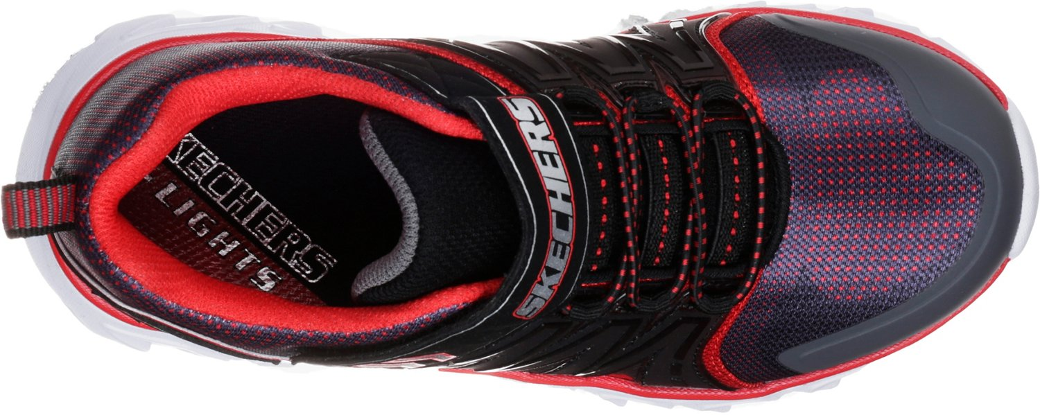 SKECHERS Boys' S Lights Hypo-Flash 2.0 Shoes - view number 5