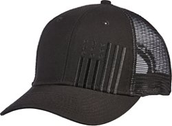 Academy Sports + Outdoors Men's Flag Trucker Hat