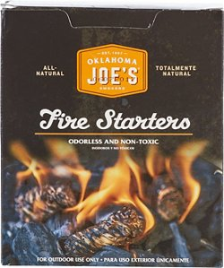 Oklahoma Joe's Fire Starters 24-Pack