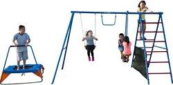 Fitness Reality Fun Series Metal Swing Set
