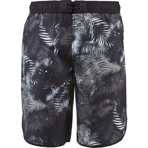 O'Rageous Men's Palm Sunset Print Scalloped Boardshorts