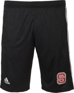 adidas Men's North Carolina University 3-Stripes Knit Shorts